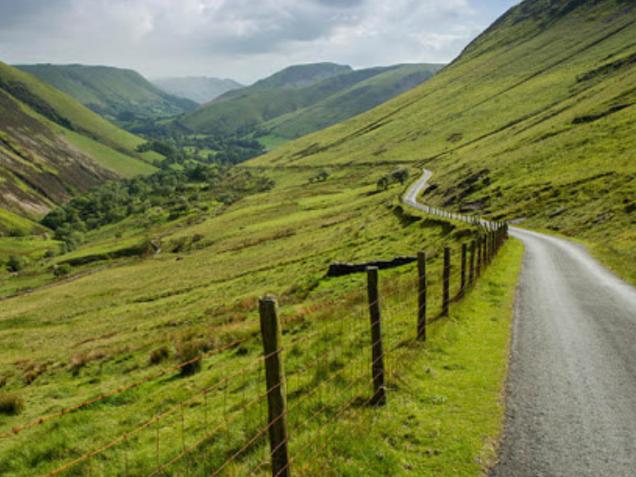 Aberystwyth Mountain Road