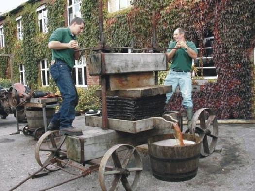 Ralph & James Pressing Apples