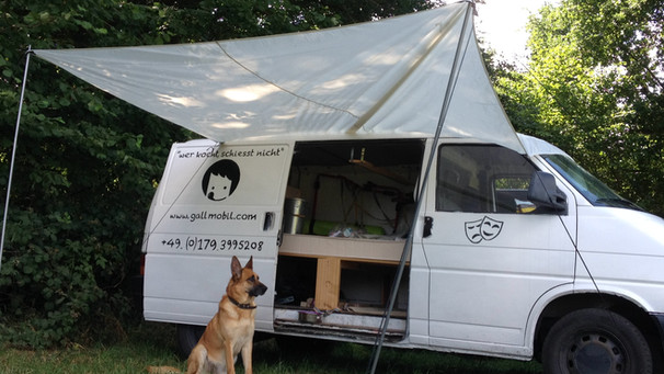das Gallmobil als Camper