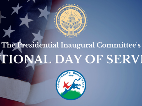Inaugural Festivities-National Day of Service