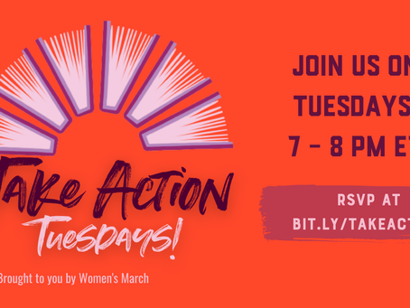 Women's March - Take Action Tuesdays