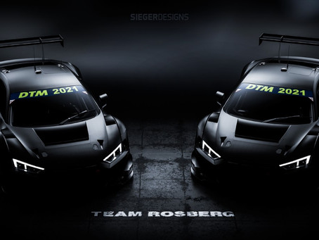 Team Rosberg DTM 2021 Announcement