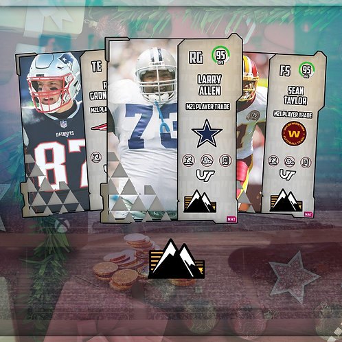 """91 - 96 OVR The """"50"""" Promo Boss Players - Madden 21 Ultimate Team"""