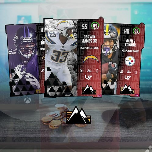 89-90 OVR Rising Star Players - Madden 21 Ultimate Team