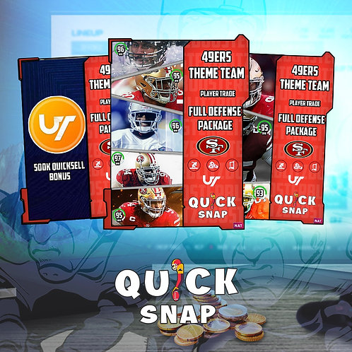 49ers Defense #QuickSnap Theme Team Special -  Madden 21 Ultimate Team