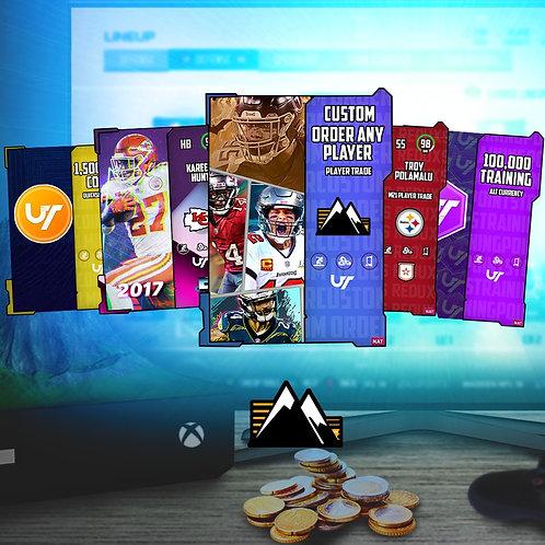 Rock Bottom Coins Custom Order  -   Madden 21 Ultimate Team