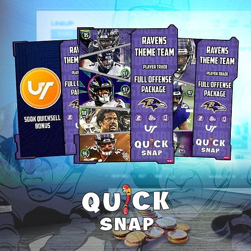 Ravens Offense #QuickSnap Theme Team Special -  Madden 21 Ultimate Team