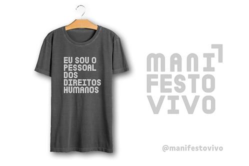 Camisa * Eu sou o pessoal dos direitos humanos
