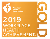 American Heart Association Workplace Health Achievement Index – Gold-level recognition 2019