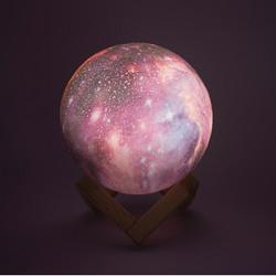 Lámpara Planetas 3D