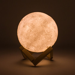 Lámpara Luna - Control Remoto