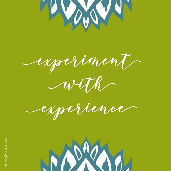 Experiment with Experience