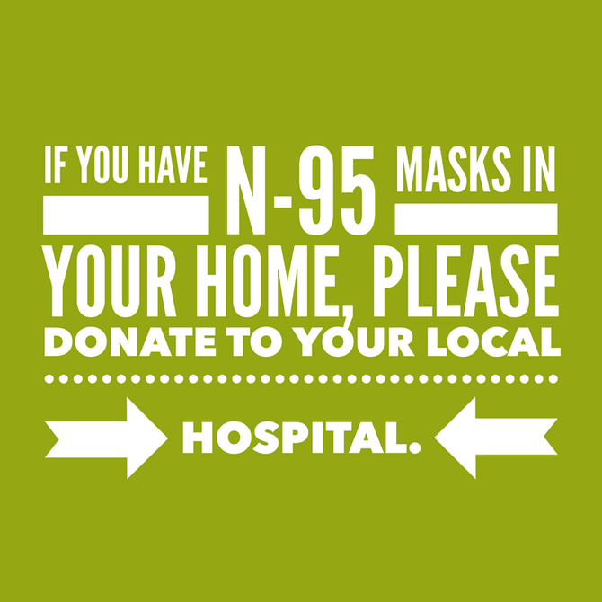 Donate your Masks!