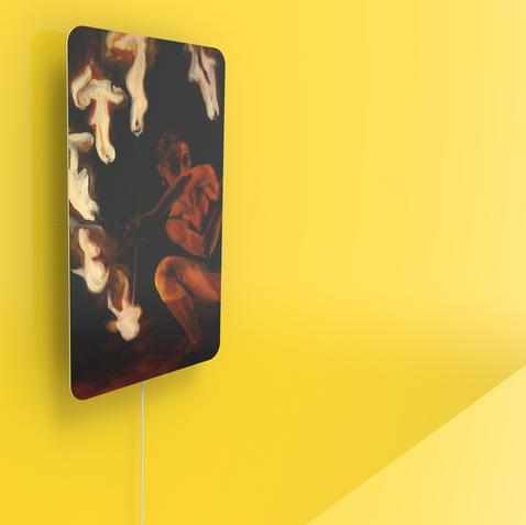 Pained speaker