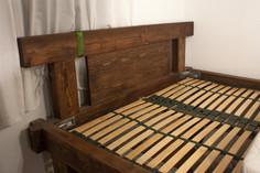 High bed headboard