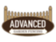 Advanced garden fencing company logo