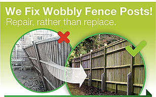 Fence repair in Guildford, Surrey