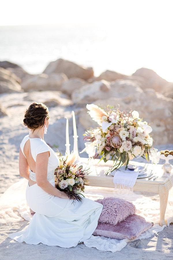 Casa Ybel wedding invitations