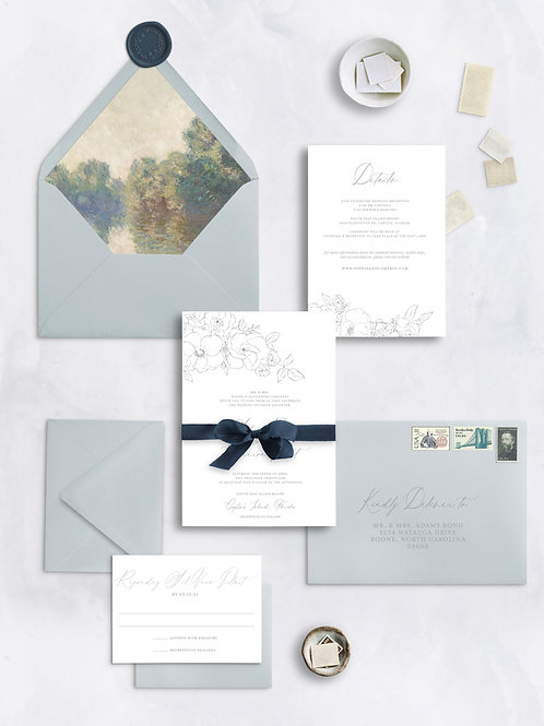 Sophie | Invitation + Envelope