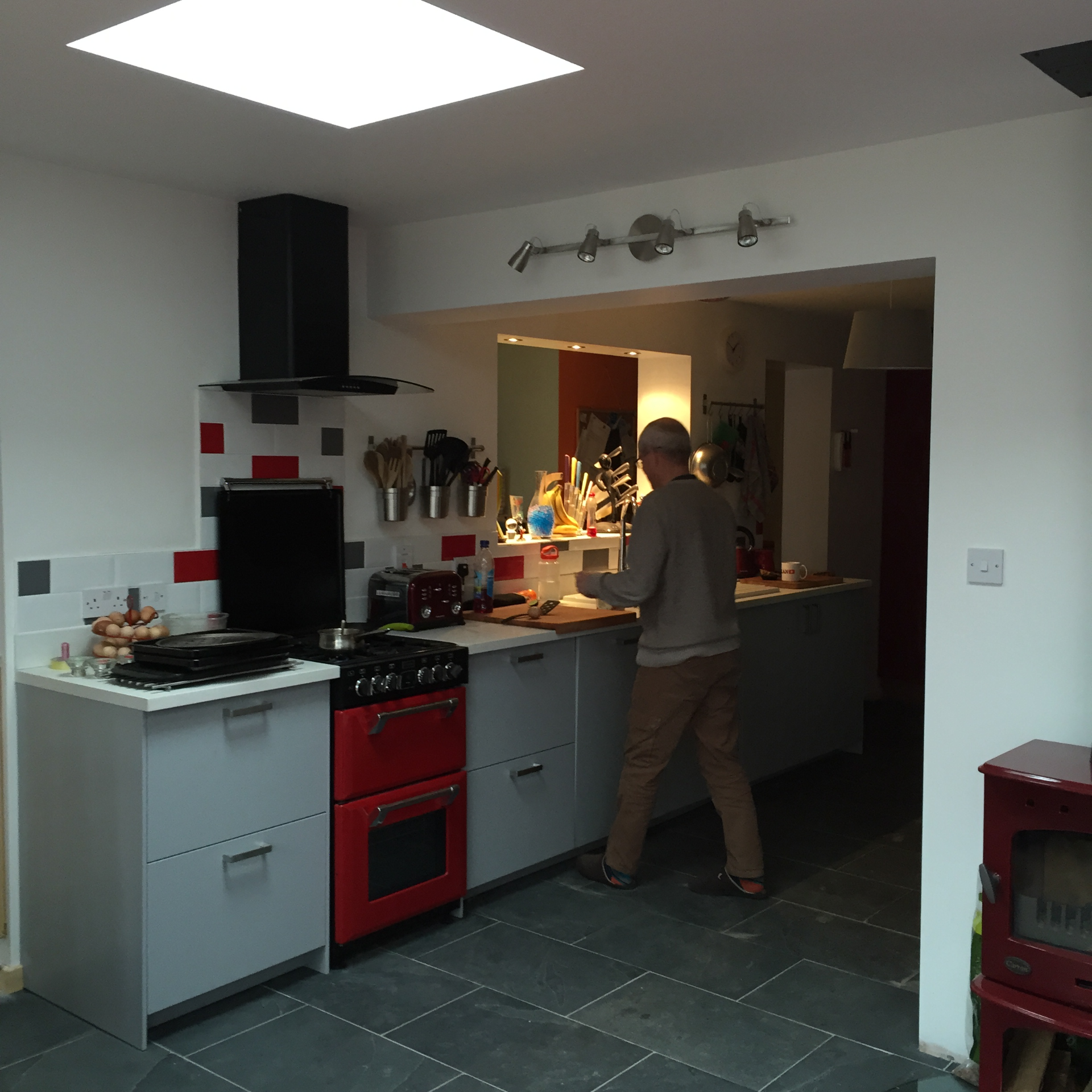 New kitchen extension