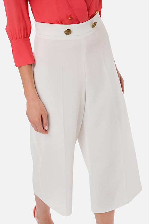 Pantalone a gamba larga Elisabetta Franchi.