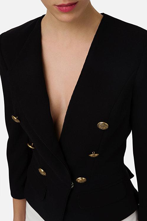 Giacca corta con bottoni Elisabetta Franchi.