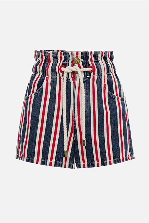Shorts a righe Elisabetta Franchi.
