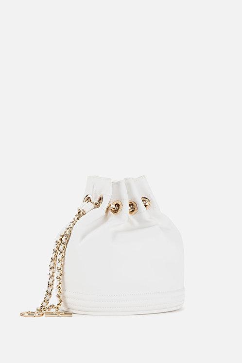 Secchiello con catena e charms Elisabetta Franchi.