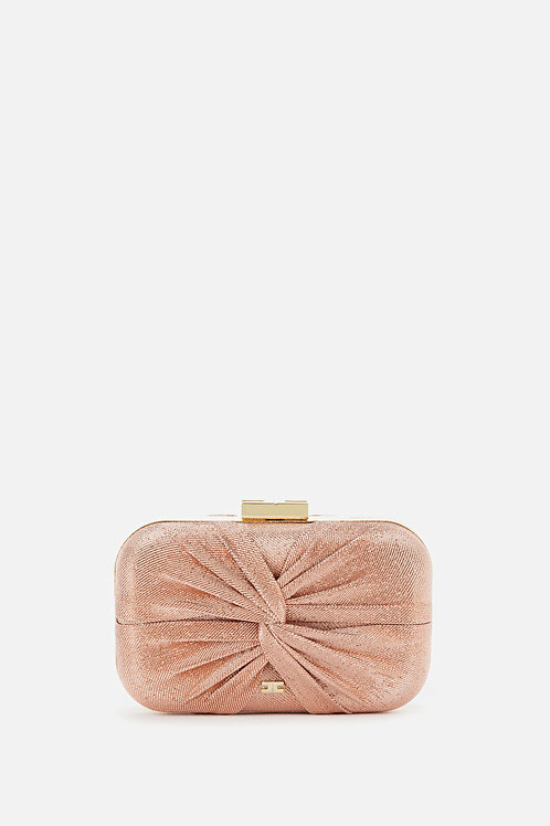 Clutch in lurex Elisabetta Franchi.