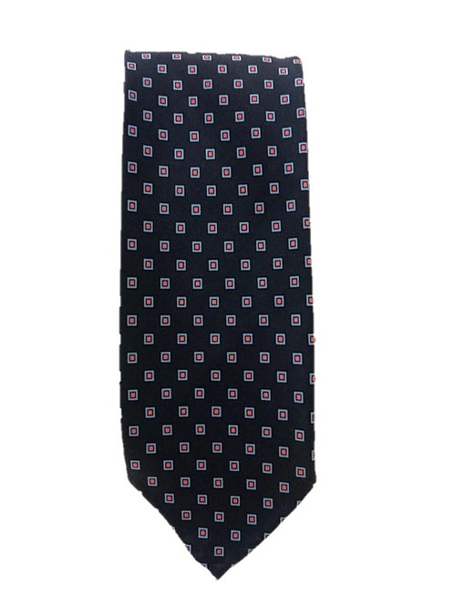 Cravatta in Seta Rettangoli