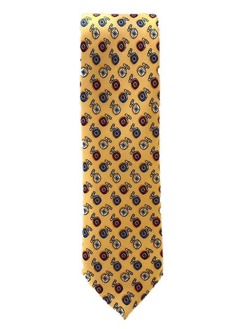 Cravatta Artigianale Yellow
