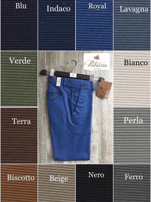 Pantalone chino di cotone Pietrarsa.