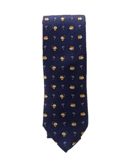 Cravatta Artigianale Monkey