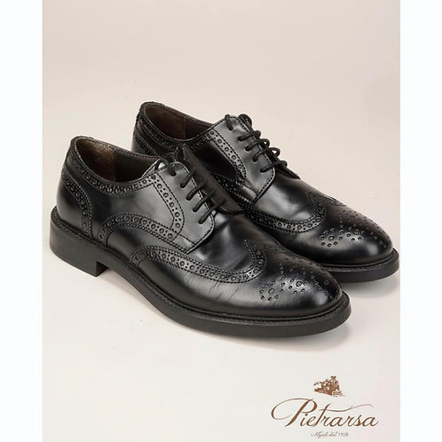Scarpa Nera Oxford Vitello.