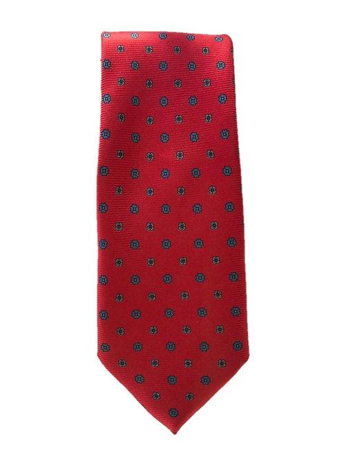 Cravatta in Seta Red
