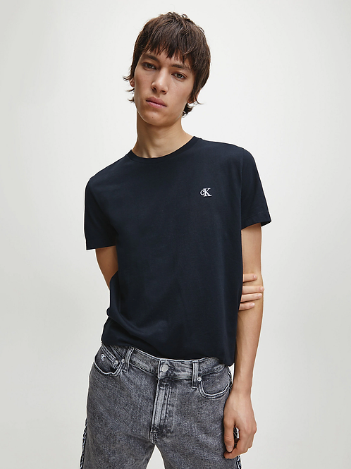 T-SHIRT IN COTONE BIOLOGICO SLIM CALVIN KLEIN.