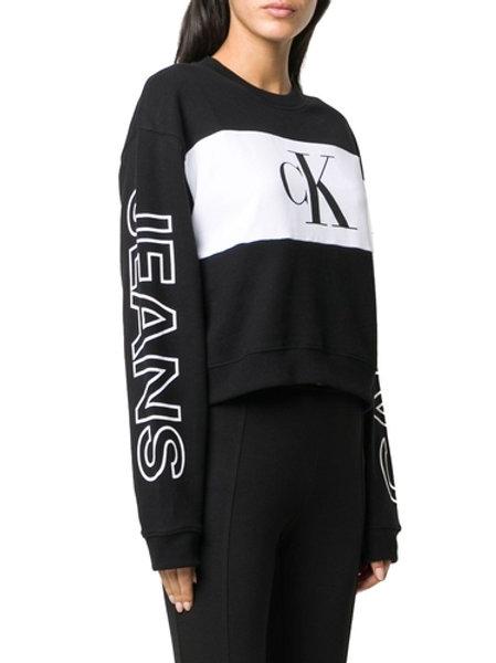 Felpa con logo Calvin Klein.
