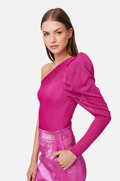 Body monospalla in jersey Elisabetta Franchi.
