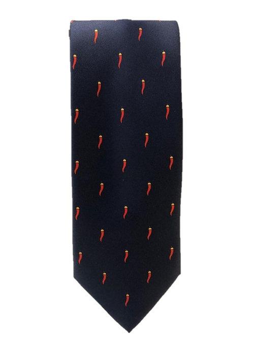 Cravatta in Seta Artigianale horny