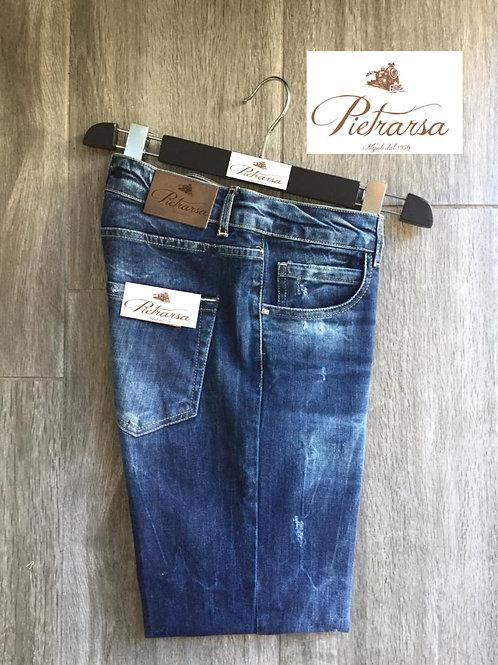 Jeans cinque tasche Pietrarsa.