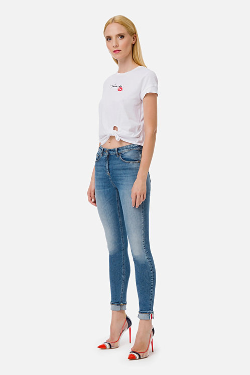 Jeans skinny Elisabetta Franchi.