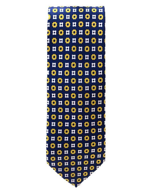 Cravatta in Seta Flower