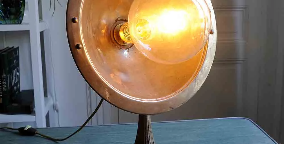 Luminaire style cuivre