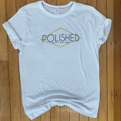 Polished Unisex Tee- White