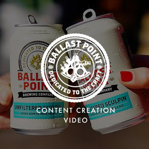 Ballast Point - Content Creation Videography