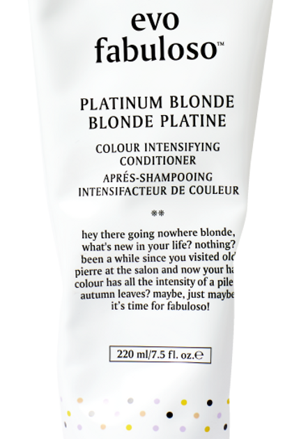 Fabuloso Platinum Blonde Color Boosting Treatment