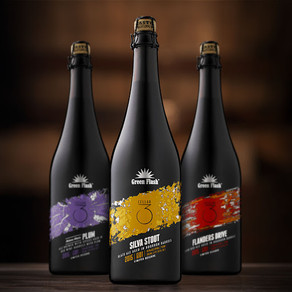 Green Flash Brewing: Cellar 3 Sour Beers - Copywriting