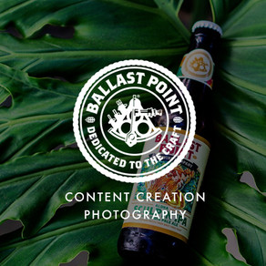 Ballast Point Brewing - Content Creation Photography