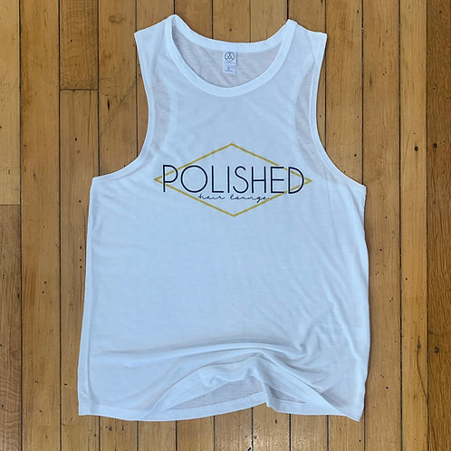 Polished Tank- White