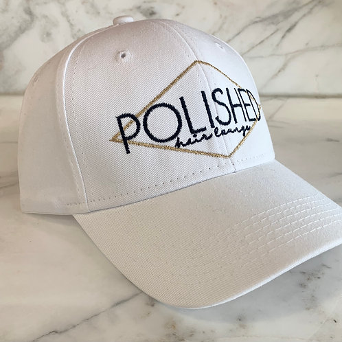 Polished Hat- White